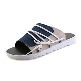 Ericdress Printed Open-Toe Slip-On Men's Sandals