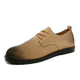 Ericdress Solid Color Brush Off Men's Casual Shoes