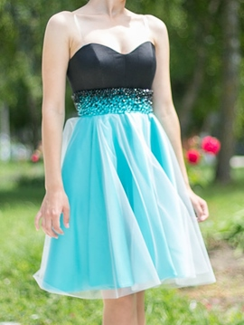 Ericdress A-Line Sweetheart Beading Short Homecoming Dress