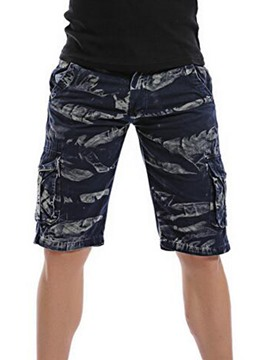 Ericdress Camouflage Large Size Pocket Casual Men's Shorts