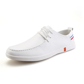 Ericdress Delicate Solid Color Lace up Men's Canvas Shoes