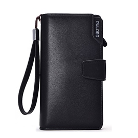 Ericdress Multifunction Solid Color Men's Wallet