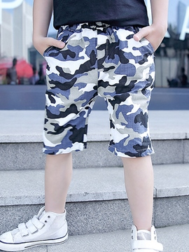 Ericdress Camouflage Boys Shorts