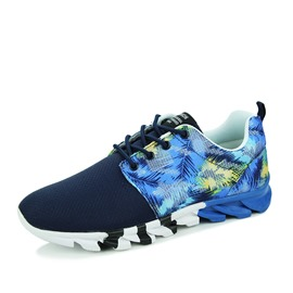 Ericdress Printed Breathable Lace-Up Athletic Shoes