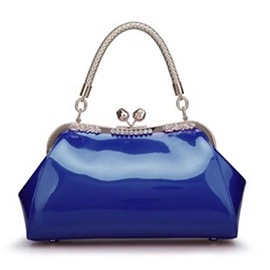 Ericdress Celebrity Sequins Patent Leather Handbag