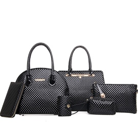 Ericdress Temperament Diamond Pattern Handbags(6 Bags)