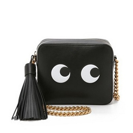 Ericdress Cartoon Eyes Print Crossbody Bag
