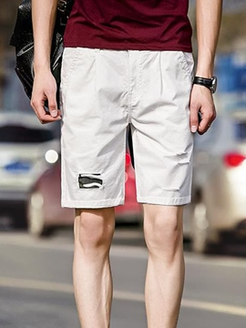 Ericdress Patchwork Casual Half Leg Men's Shorts