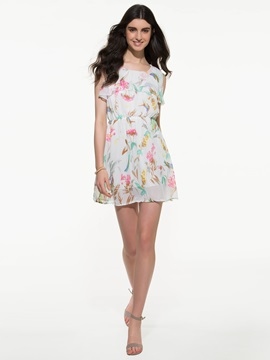 Ericdress Print Casual Dress