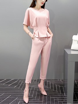 Ericdress Elegant Pants Suit