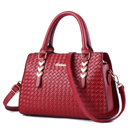 Ericdress Graceful Weaved Motorcycle Handbag