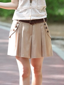 Ericdress Simple Casual Shorts