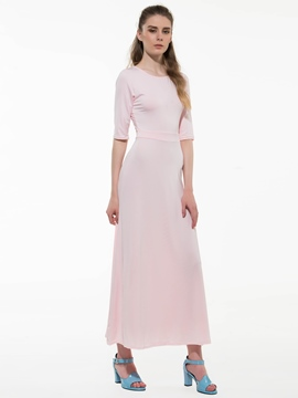 Ericdress Prom Solid Color Floor-Length Maxi Dress