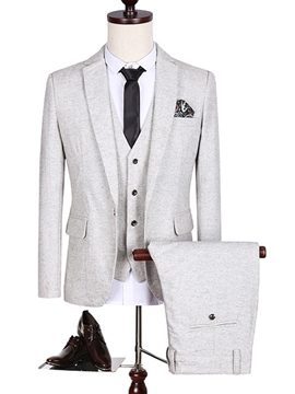 Ericdress Plus Size Three-Piece of Classic Men's Suit