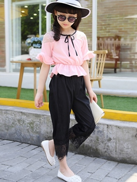 Ericdress Chiffon Girls Pants Outfit
