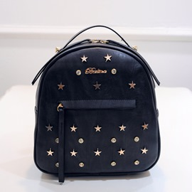 Ericdress All Match Diamante Backpack