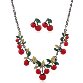 Cherry Two-Piece Jewelry Set