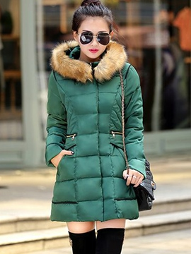 Ericdress Warm Cotton Coat
