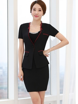 Ericdress OL Short Sleeve Blazer Suit
