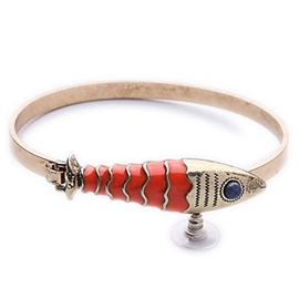 Alloy Fish Bracelet