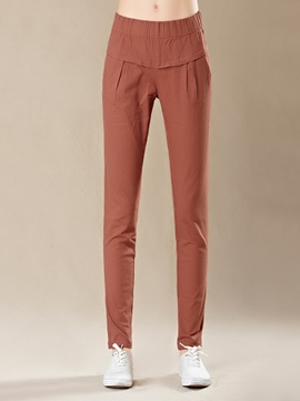 Ericdress Pleated Casual Pants