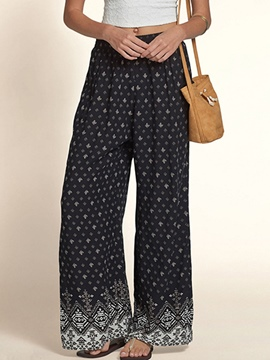 Ericdress Euro-American Style Print Pants