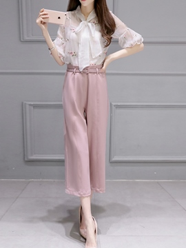 Ericdress Sweet Blouse Suit