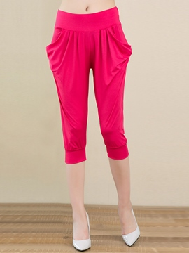 Ericdress Pleated Harem Pants