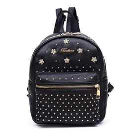 Ericdress Cool Rivets Decorated Backpack