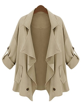 Ericdress Euro-American Casual Trench Coat