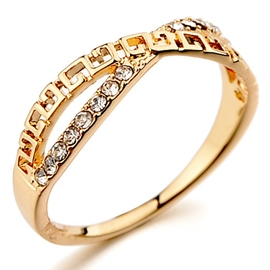 Cross Pattern Plating Ring