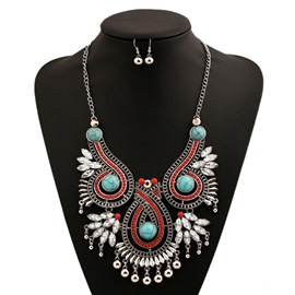 Ericdress Alloy Beads Tassels Jewelry Set