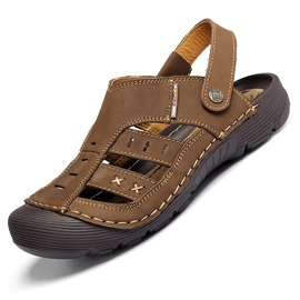 Ericdress Open Door Cutout Men's Flat Sandals