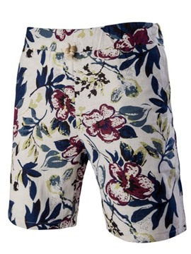 Ericdress Flower Casual Men's Shorts