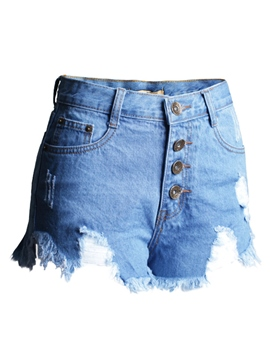 Ericdress Euro-American Style Denim Shorts