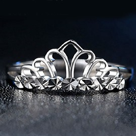 Ericdress Classic Alloy One Size Crown Design Women's Promise Ring
