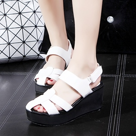 Ericdress Special Cut Out Wedge Sandals