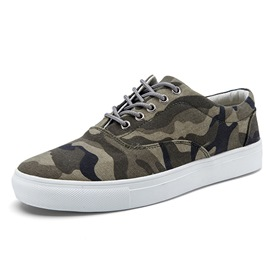 Ericdress Camouflage Men's Canvas Shoes