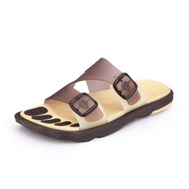 Ericdress Solid Color Breathable Men's Beach Sandals