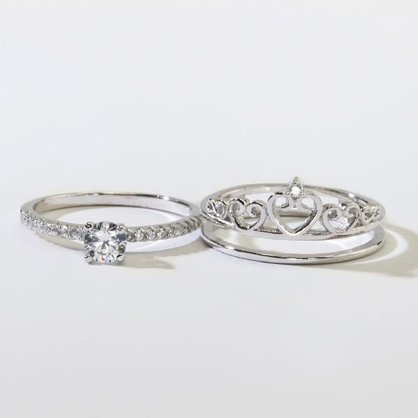 925 silver princess crown ring 12154177 ericdress