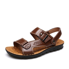 Ericdress Cool Solid Color Men's Beach Sandals