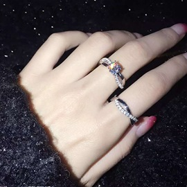 Silver Proposed Four Claw Ring