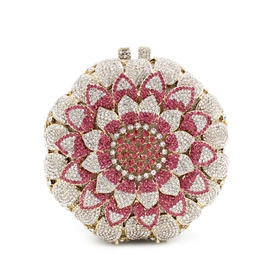 Ericdress Ladylike Diamond Sunflower Evening Clutch