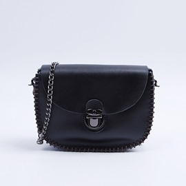 Ericdress Vintage Chain Decorated Crossbody Bag