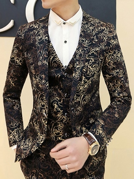 Ericdress Leopard Pattern Vogue Slim Men's Blazer