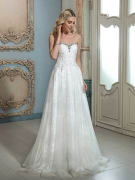 Ericdress Charming Sweetheart Beaded A Line Wedding Dress