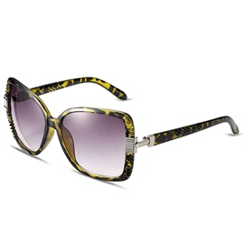 Ericdress Vogue Anti UV Plastic Sunglasses