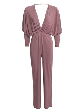 Ericdress Sexy Pleated Jumpsuits Pants