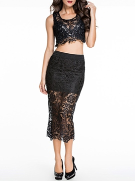 Ericdress Sexy Lace Suit