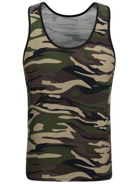 Ericdress Camouflage Casual Men's Vest